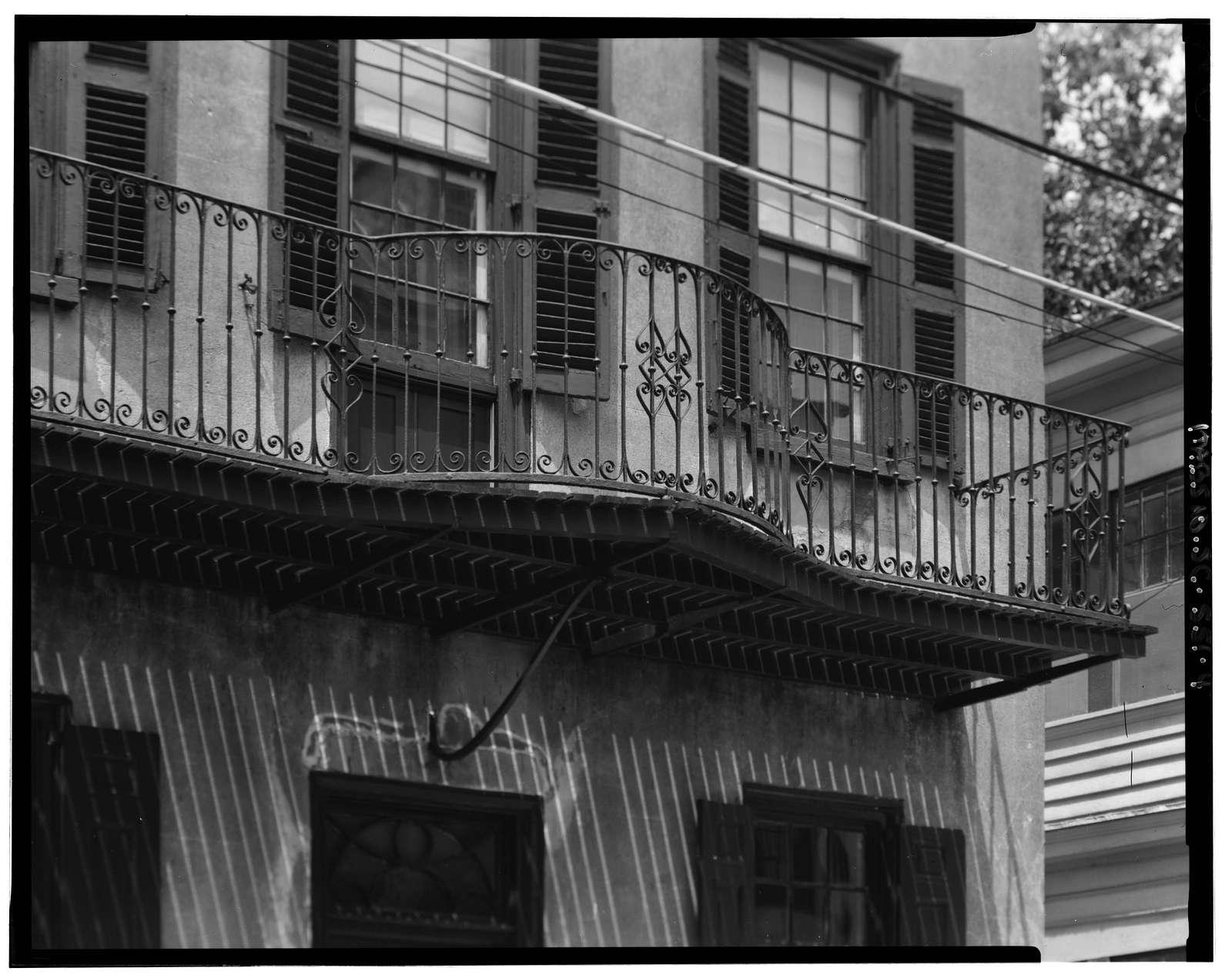 William Vanderhorst House, 54 Tradd Street, Charleston, Charleston County, SC