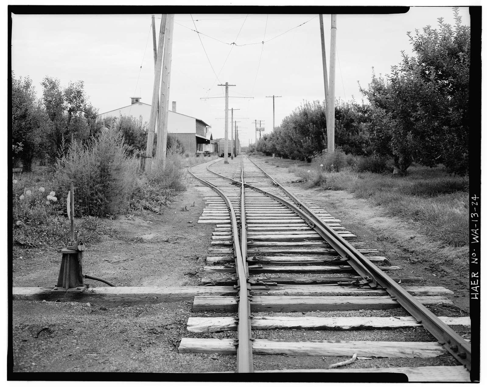 Yakima Valley Transportation Company Interurban Railroad, Connecting towns of Yakima, Selah & Wiley City, Yakima, Yakima County, WA