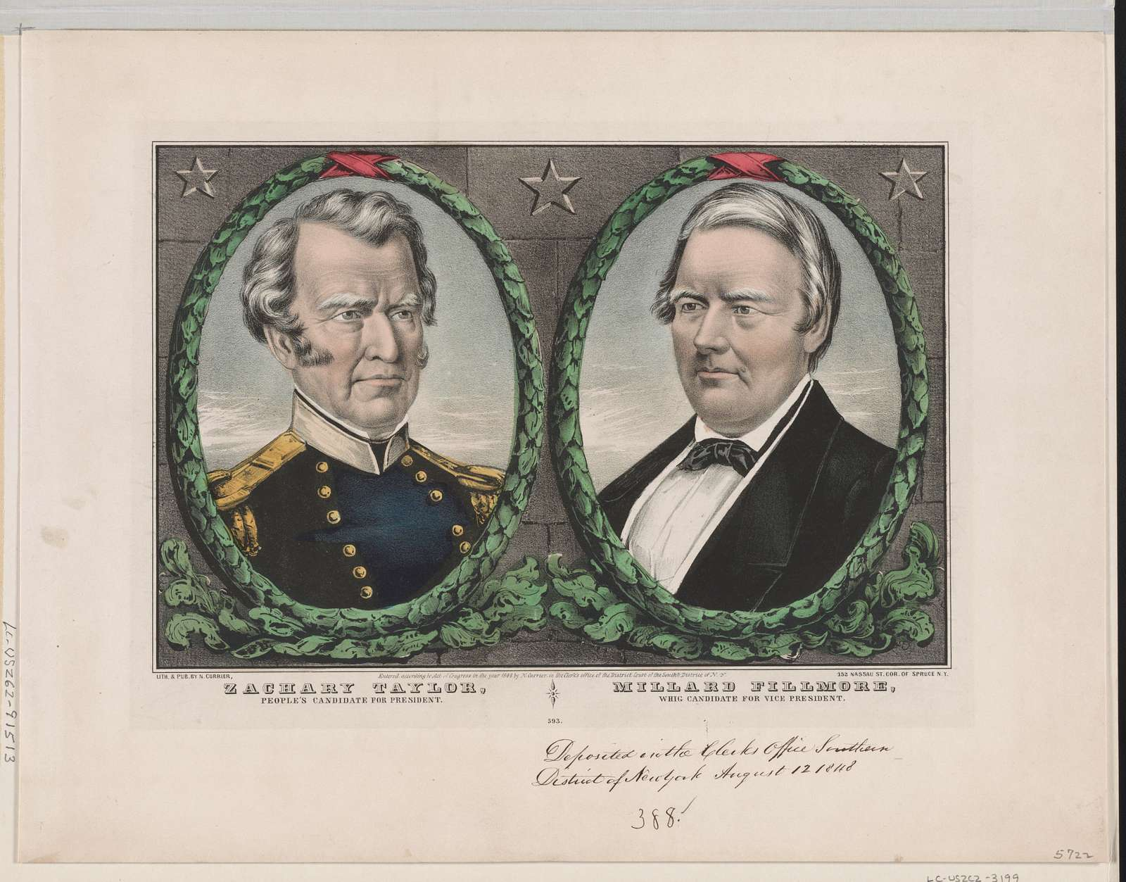 Zachary Taylor, people's candidate for President