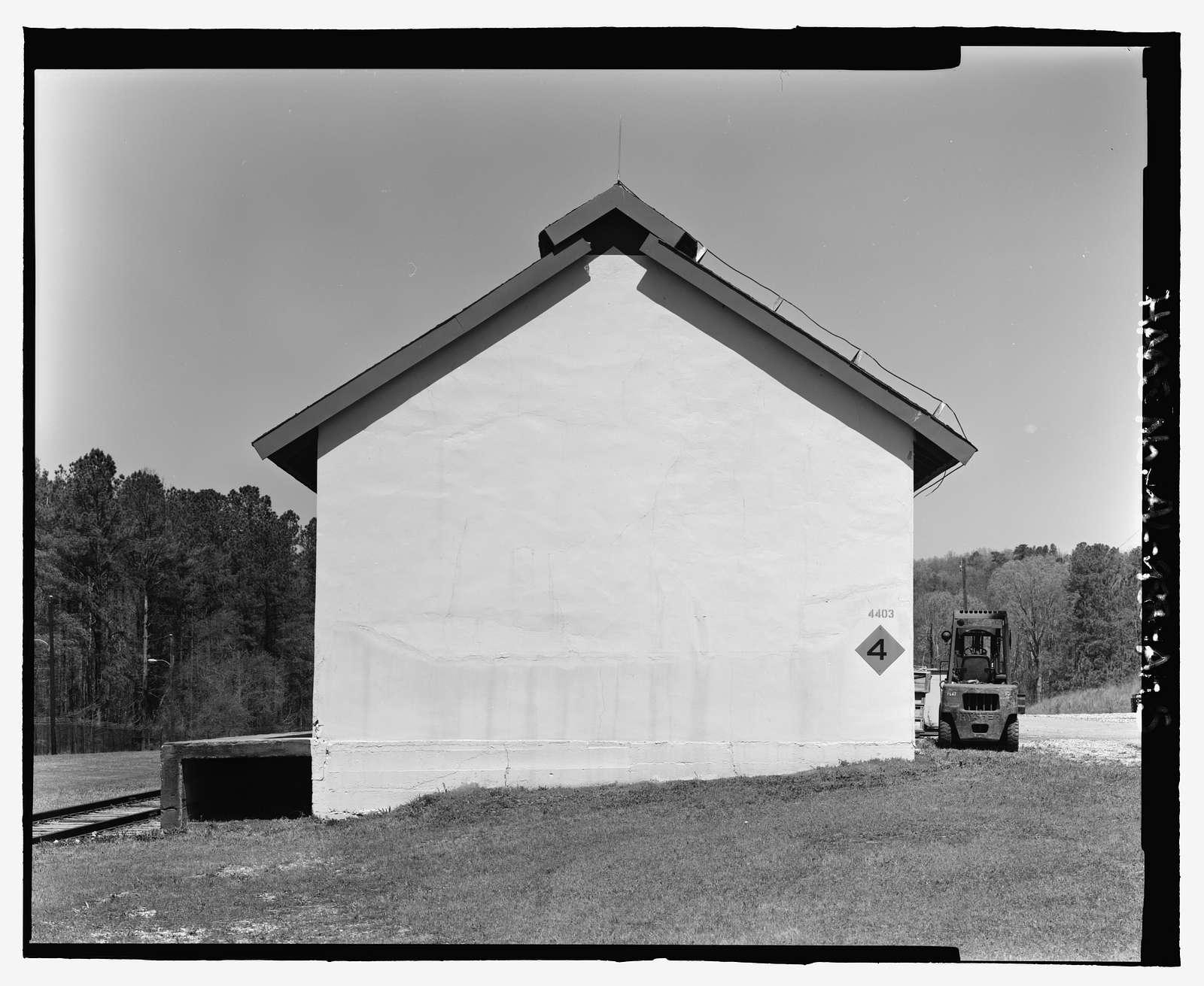 Fort McClellan Ammunition Storage Area, Building No. 4403, Second Avenue (Magazine Road), Anniston, Calhoun County, AL