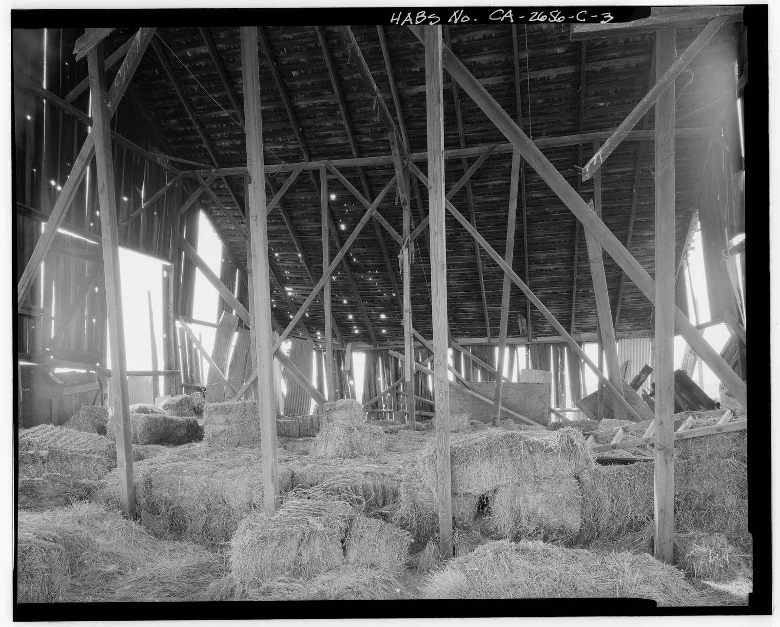 Hudson-Cippa-Wolf Ranch, Hay Barn, Sorento Road, Sacramento, Sacramento County, CA