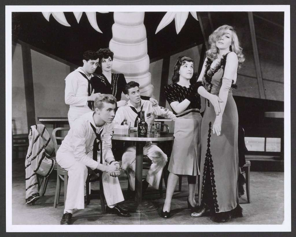 Images of original production and cast of On the Town