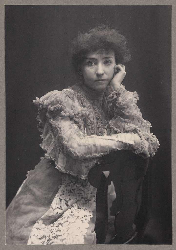 "Mrs. Fiske, ""Love finds the way"" / Zaida Ben Yusuf."