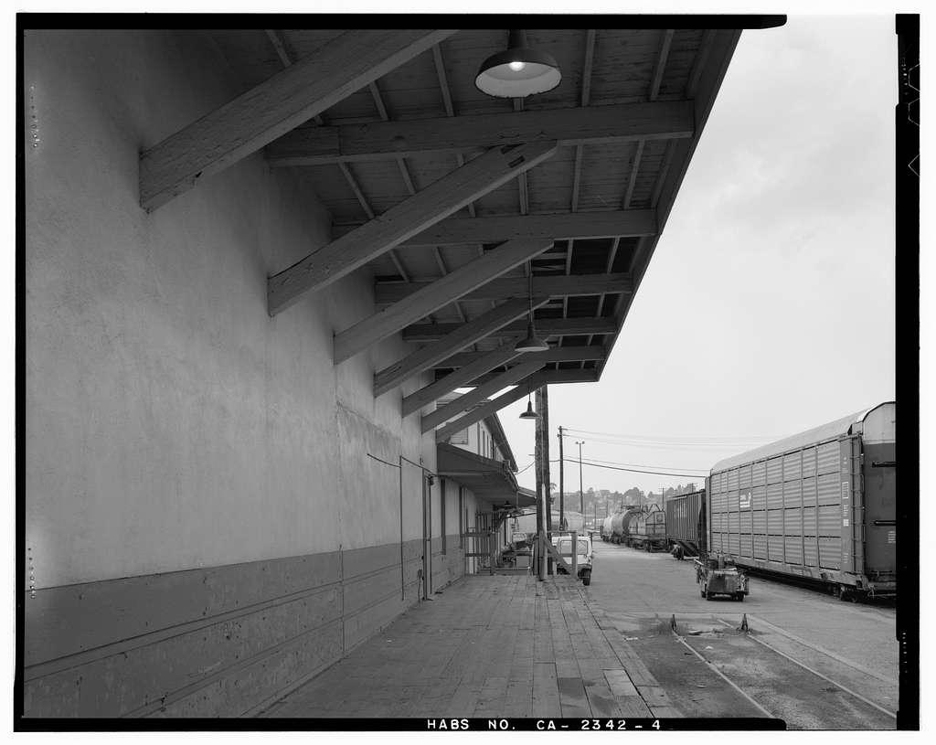 Santa Fe Railroad Depot, 101 Garrard Boulevard, Richmond, Contra Costa County, CA