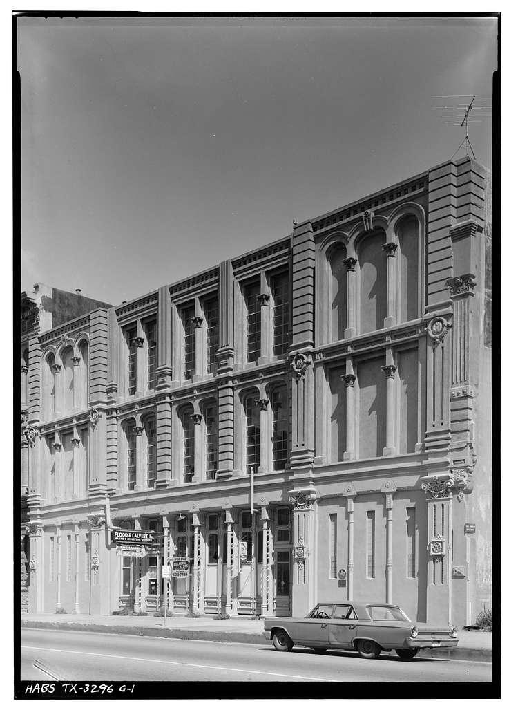 Strand Historic District, Greenleve, Block & Company Building, 2310-2314 Strand, Galveston, Galveston County, TX