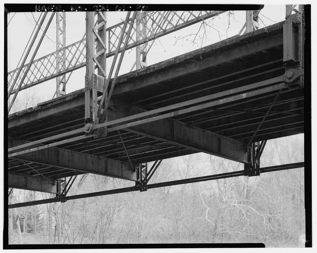Wabash River Bridge, Spanning Wabash River over Salamonie Road (County Road 200 West), Huntington, Huntington County, IN
