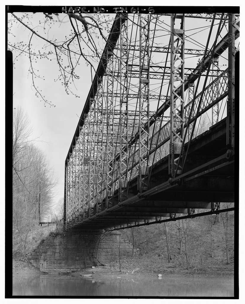 Wabash River Bridge, Spanning Wabash River over Salamonie Road (County Road 200 West), Huntington, Huntington County, IN
