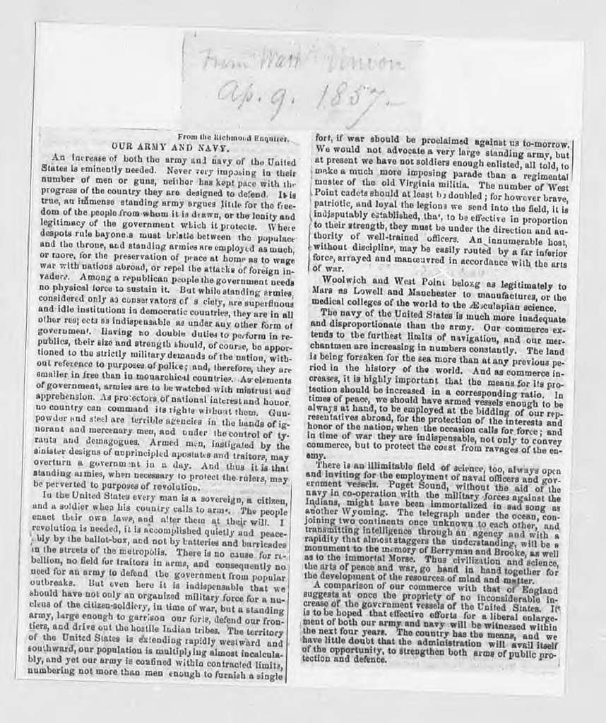 Bound clippings on the telegraph---1842-1861