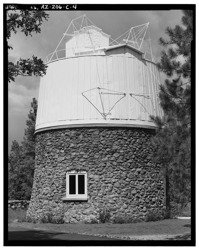 Lowell Observatory, Pluto Dome, 1400 West Mars Road, Flagstaff, Coconino County, AZ