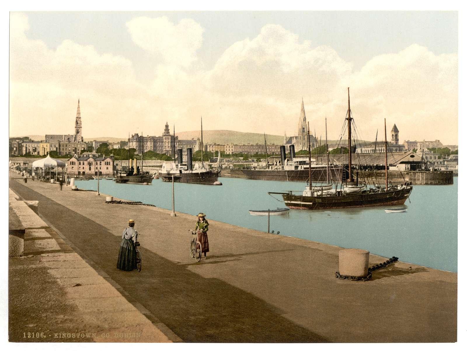 [The Harbor, Kingstown. County Dublin, Ireland]