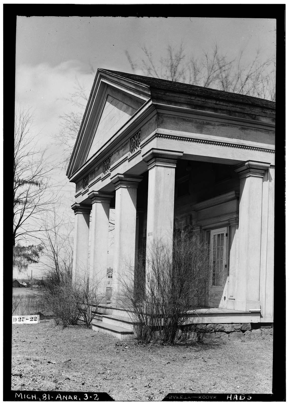 Anderson House, 2301 Packard Road, Ann Arbor, Washtenaw County, MI