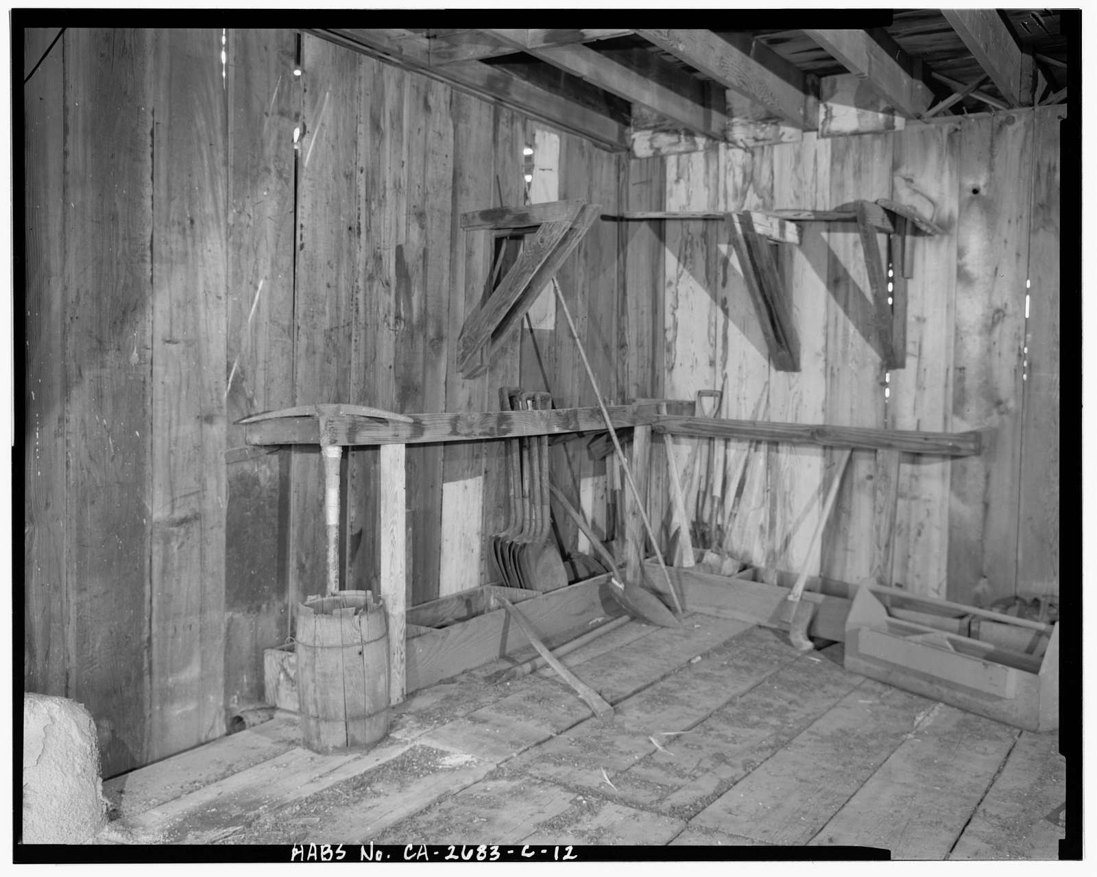Camp Tulelake, Shop-Storage Building, West Side of Hill Road, 2 miles South of State Highway 161, Tulelake, Siskiyou County, CA