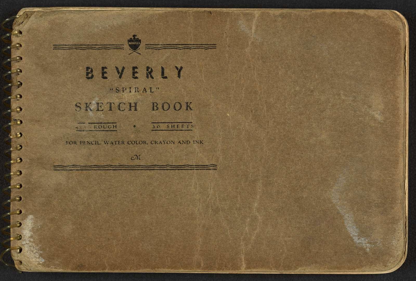 [Cover of sketchbook, volume 2]