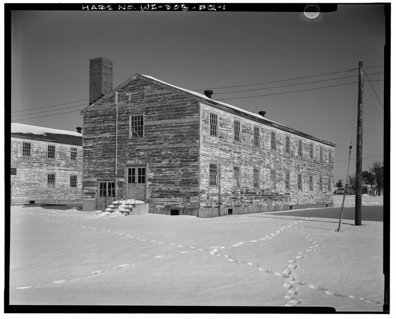 Fort McCoy, Building No. T-2307, Approximately 300' West of Building T-2139, Sparta, Monroe County, WI
