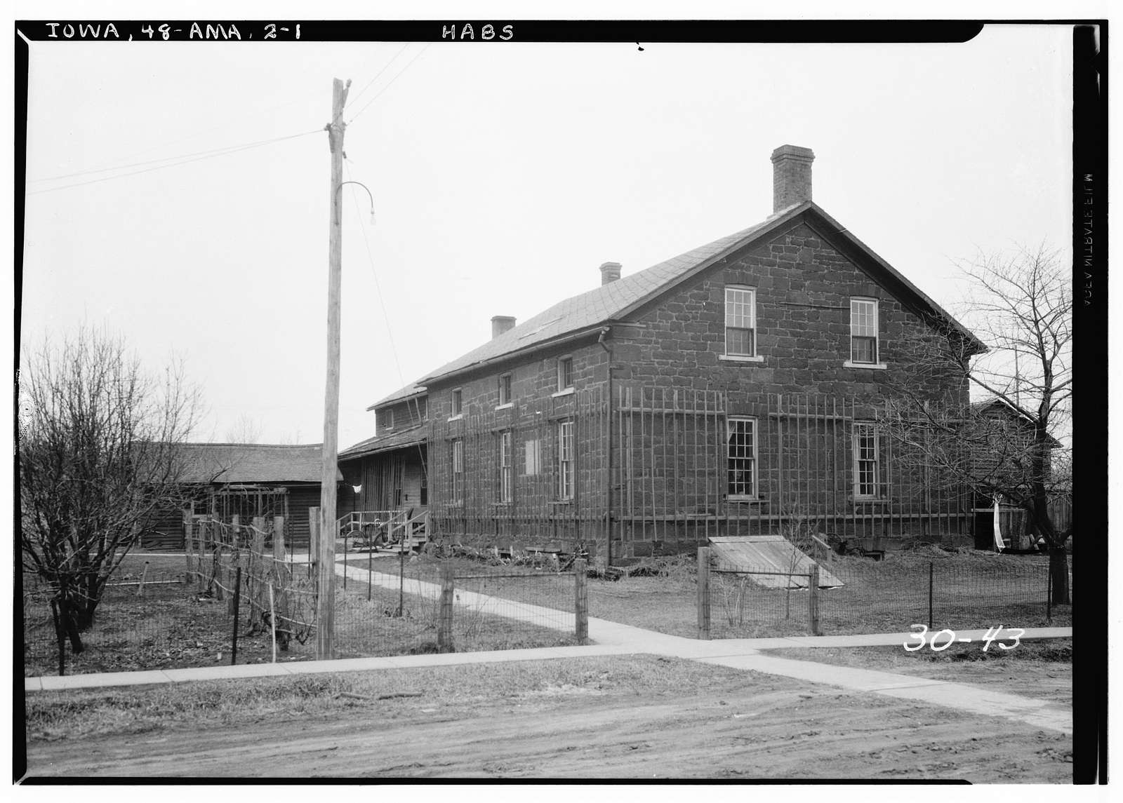 Pitz Meetinghouse, State Route 220 Vicinity, Amana, Iowa County, IA