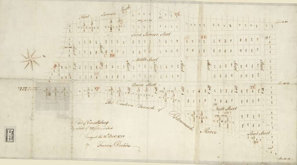 Plat of Carrollsburg /