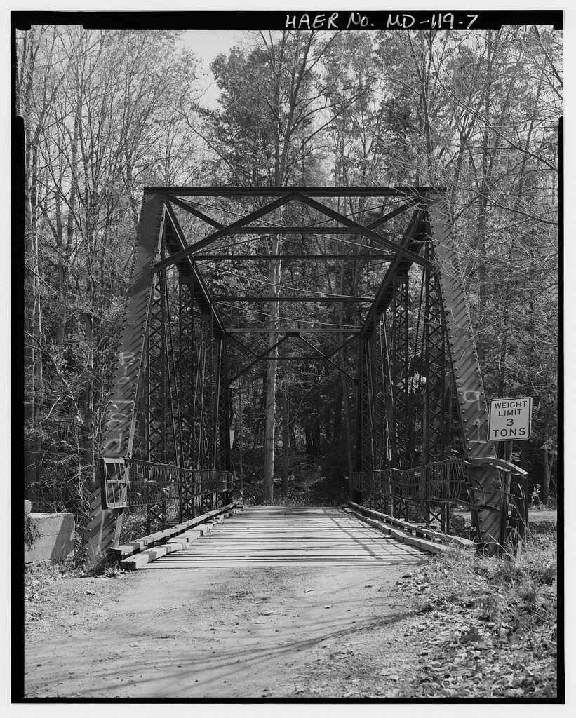 River Road Bridge, Crossing Casselman River on Casselman River Road, Grantsville, Garrett County, MD