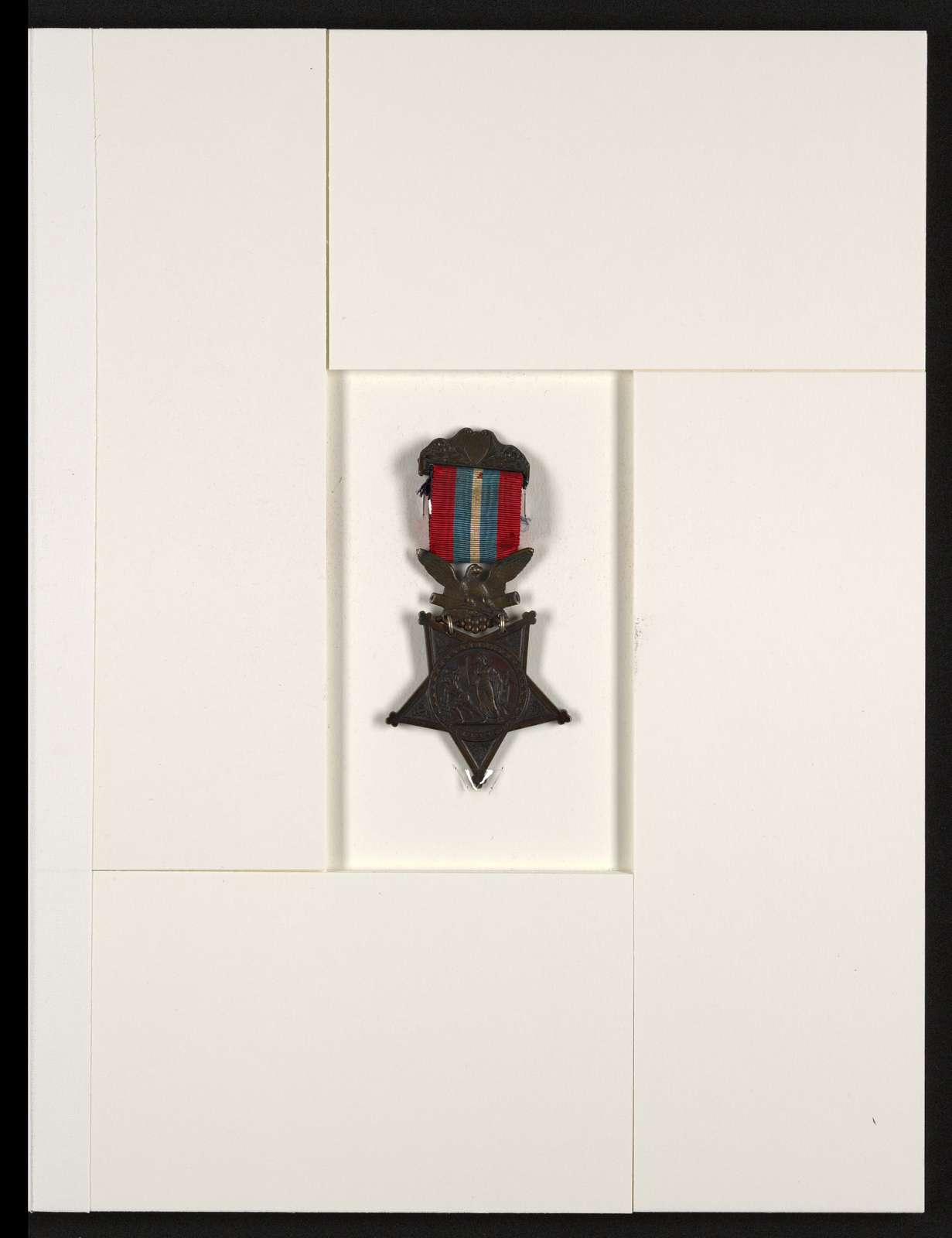 Charles Wellington Reed Papers: Congressional Medal of Honor, 1895; First design