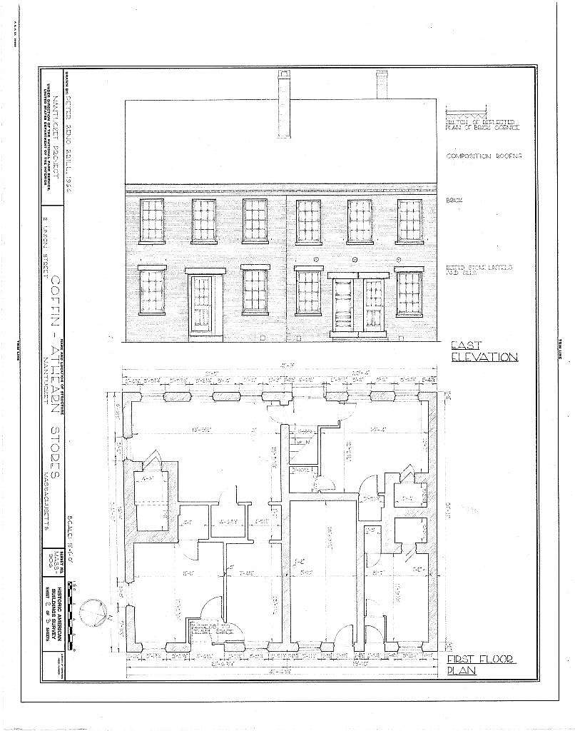 Coffin-Athearn Stores, 2 Union Street, Nantucket, Nantucket County, MA