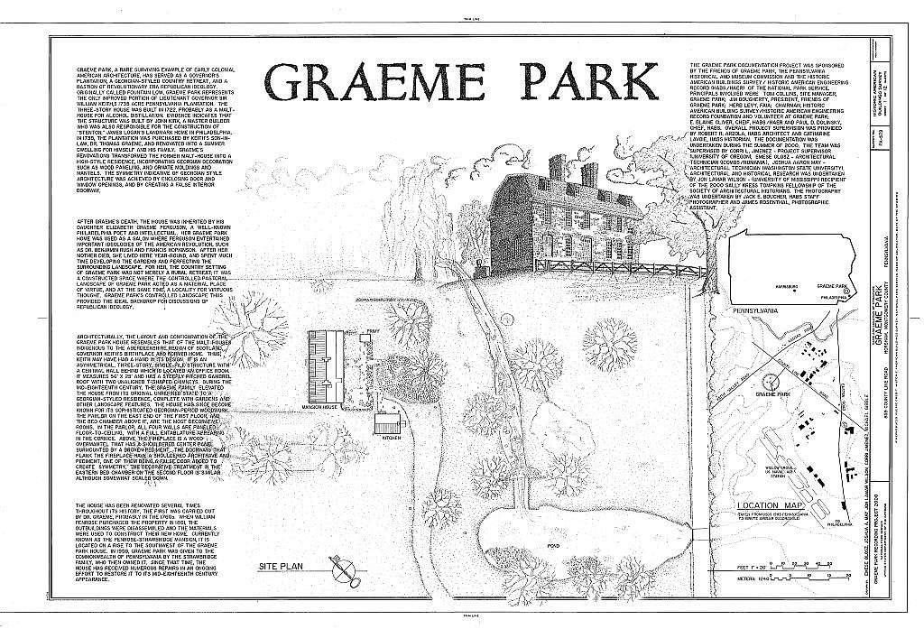 Graeme Park, 859 County Line Road, Horsham, Montgomery County, PA