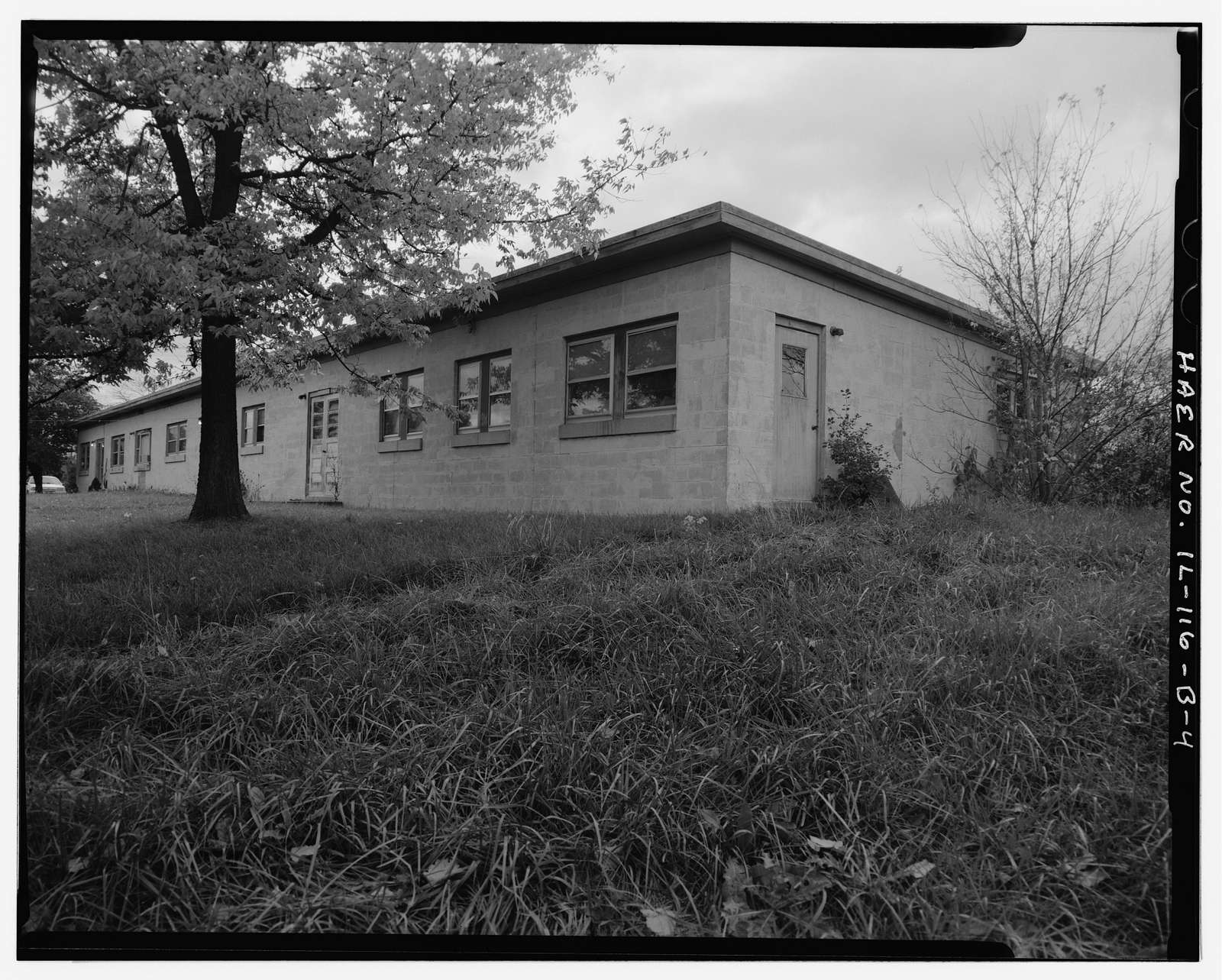 NIKE Missile Base C-84, Administration Building, North of Launch Area Entrance Drive, Barrington, Cook County, IL