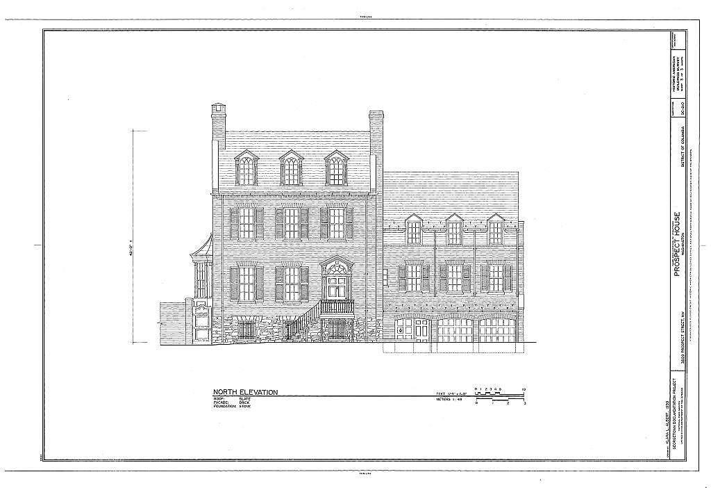 Prospect House, 3508 Prospect Street, Northwest, Washington, District of Columbia, DC