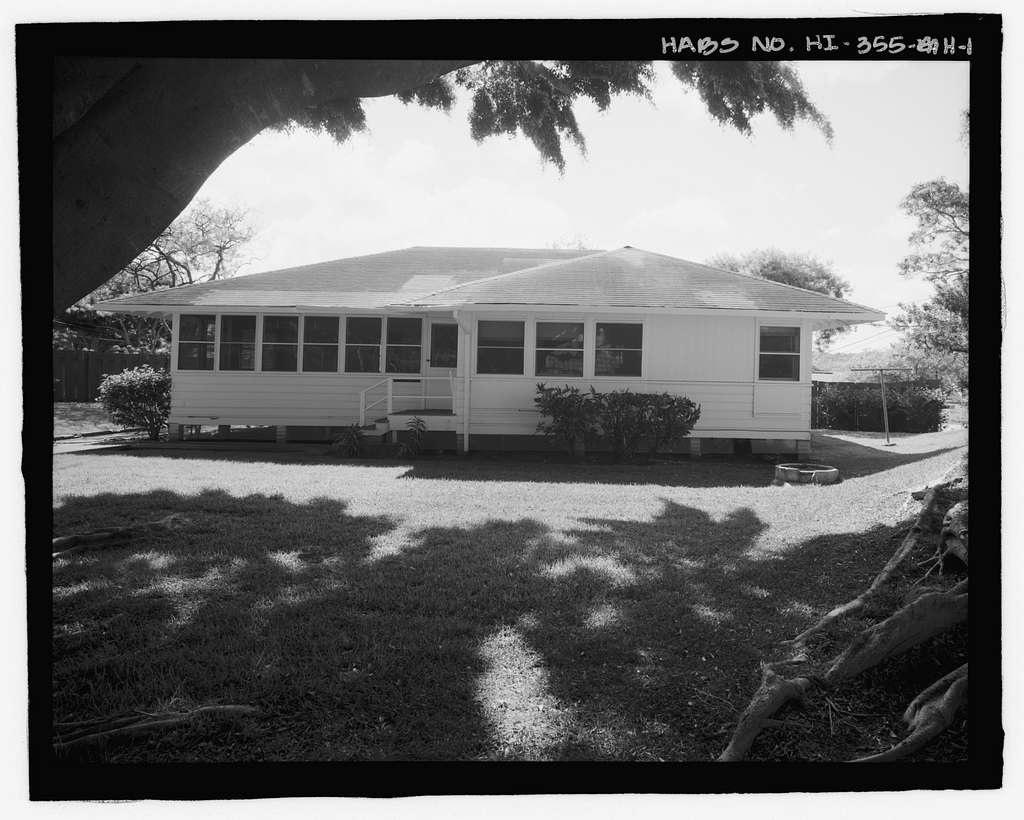 U.S. Naval Base, Pearl Harbor, Naval Housing Area Makalapa, Transportation Department Office, 47 Makalapa Drive, Pearl City, Honolulu County, HI