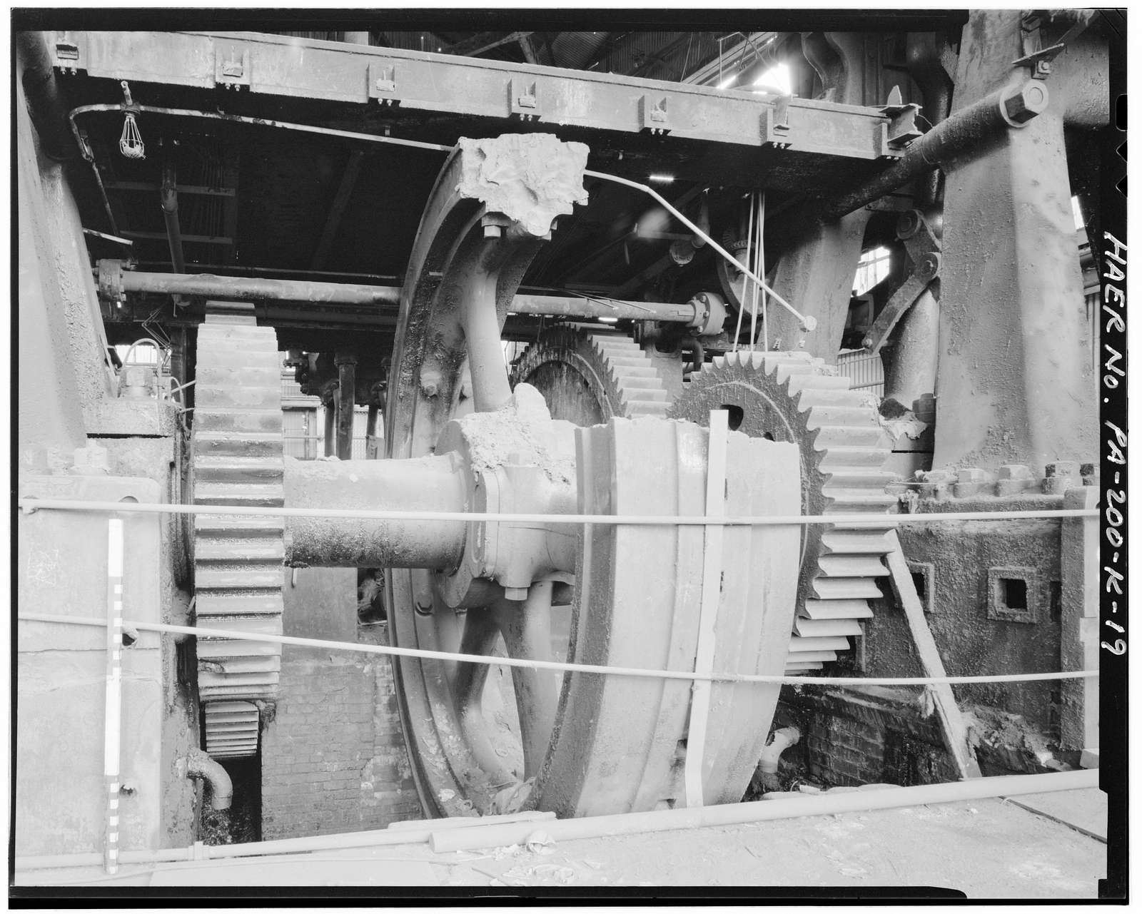 U.S. Steel Homestead Works, Press Shop No. 1, Along Monongahela River, Homestead, Allegheny County, PA