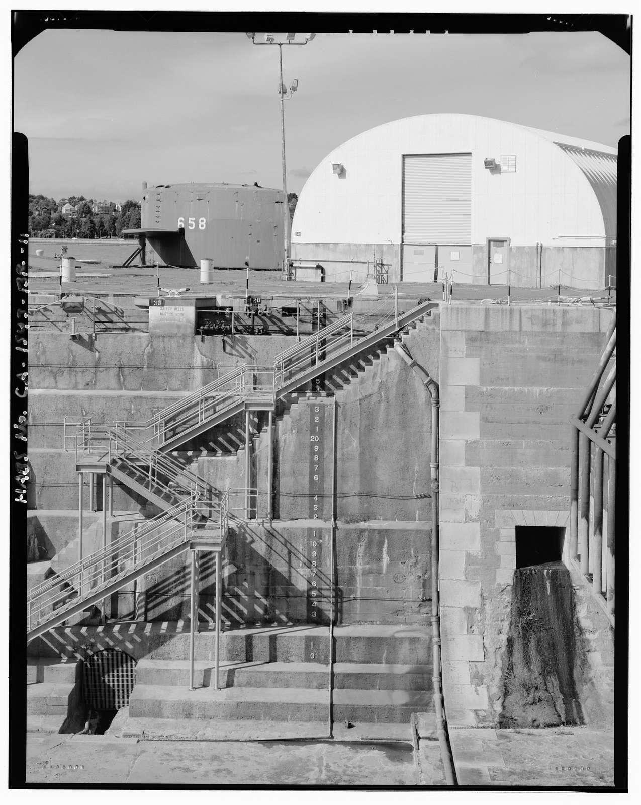 Mare Island Naval Shipyard, Drydock No. 2, California Avenue, east side near Ninth Street, Vallejo, Solano County, CA