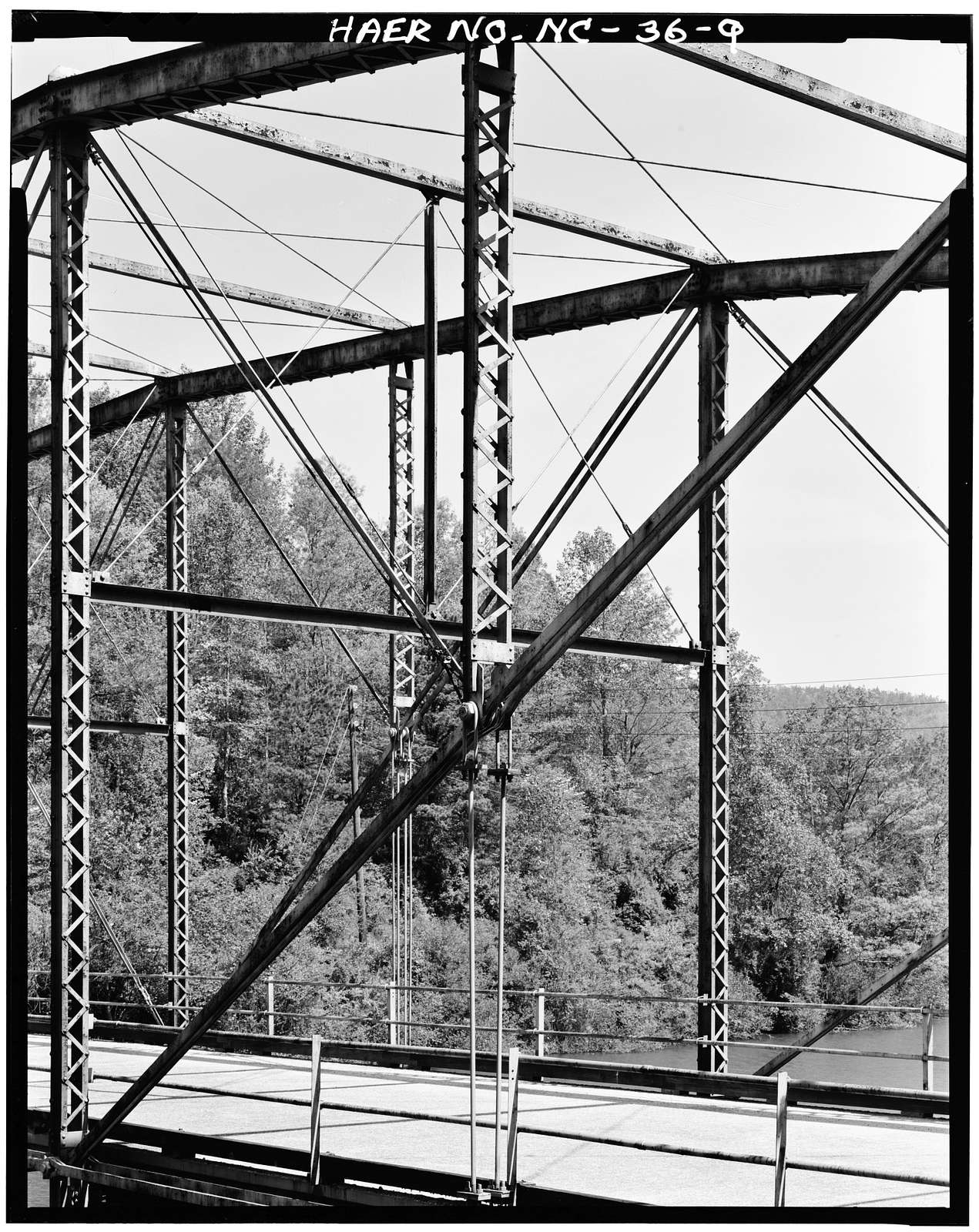 North Carolina Route 1852 Bridge, Spanning Lake Summit, Tuxedo, Henderson County, NC