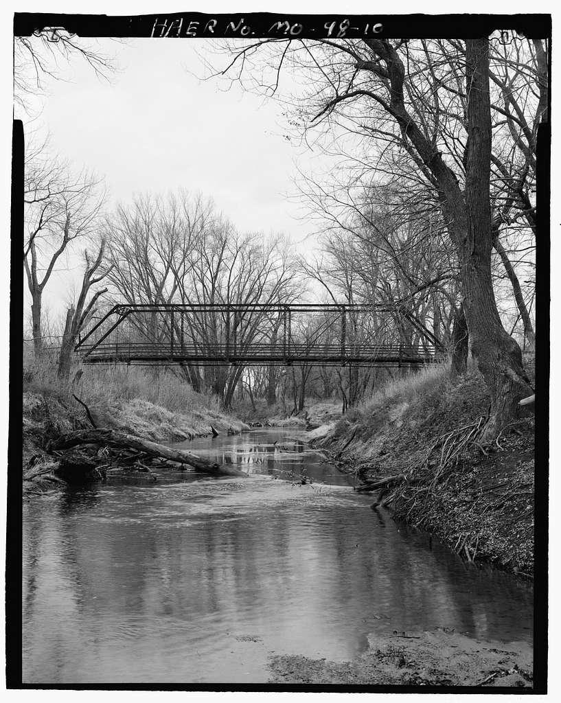 Shoal Creek Bridge, Spanning Shoal Creek at Cart Road 359, Kingston, Caldwell County, MO