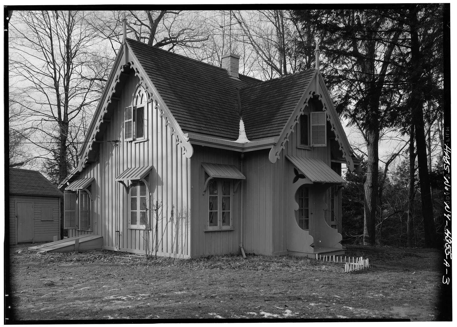 Springwood, Superintendent's Cottage, Hyde Park, Dutchess County, NY
