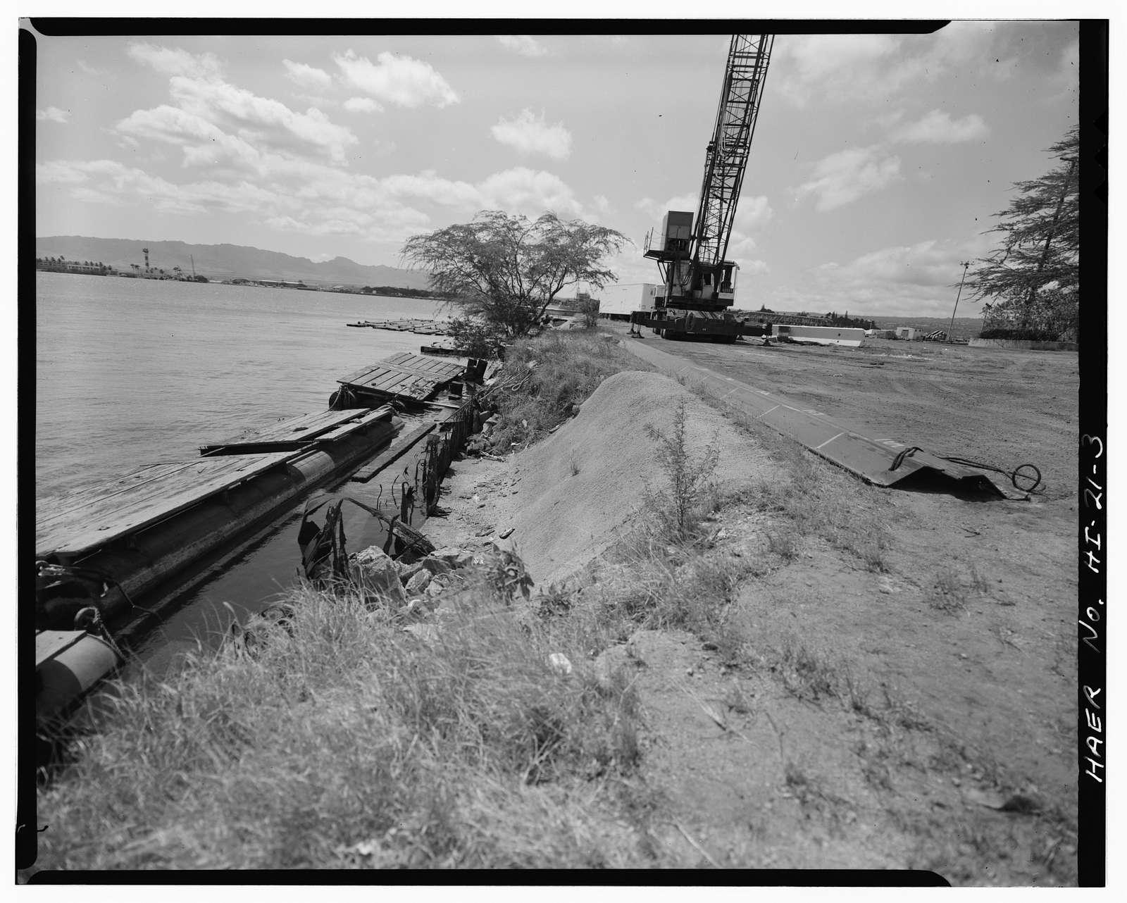 U.S. Naval Base, Pearl Harbor, Quaywall Y-3, Western tip of Kuahua Peninsula, Pearl City, Honolulu County, HI