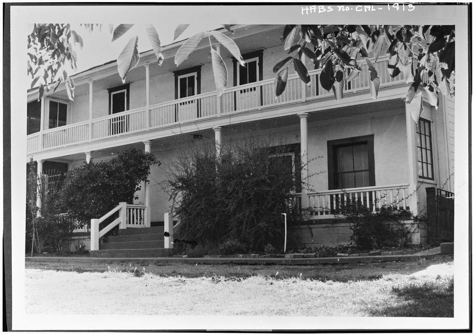 Vicente Martinez Adobe, Pleasant Hill & Franklin Canyon Roads, Martinez, Contra Costa County, CA