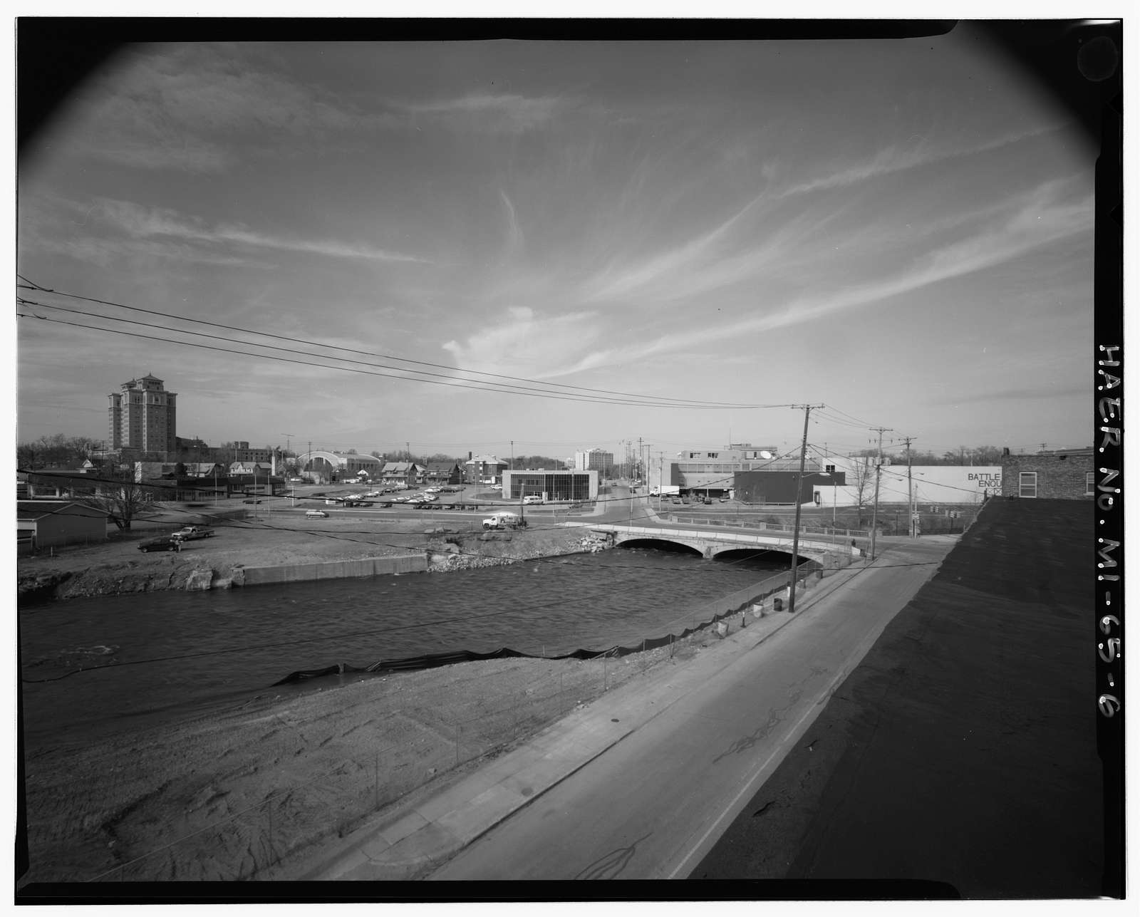 West Michigan Avenue Bridge, Spanning Battle Creek River, Battle Creek, Calhoun County, MI