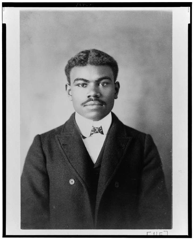 [African American man, half-length portrait, facing front]
