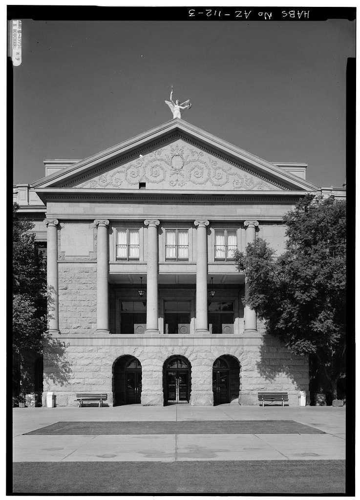 Arizona State Capitol Building, 1700 West Washington Street, Phoenix, Maricopa County, AZ