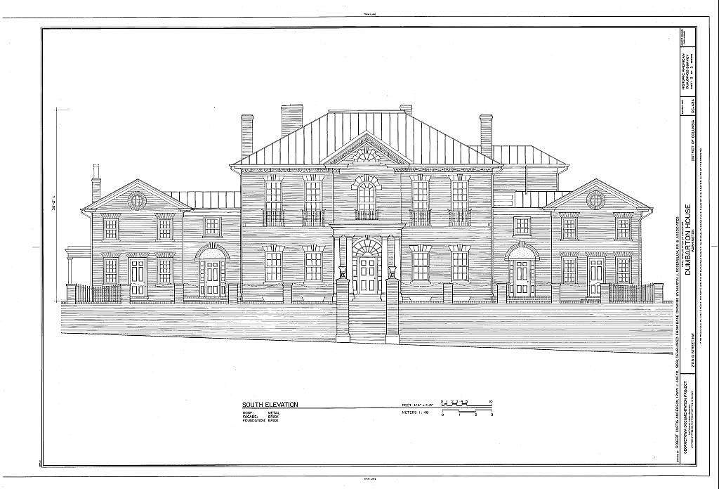 Dumbarton House, 2715 Q Street, Northwest, Washington, District of Columbia, DC