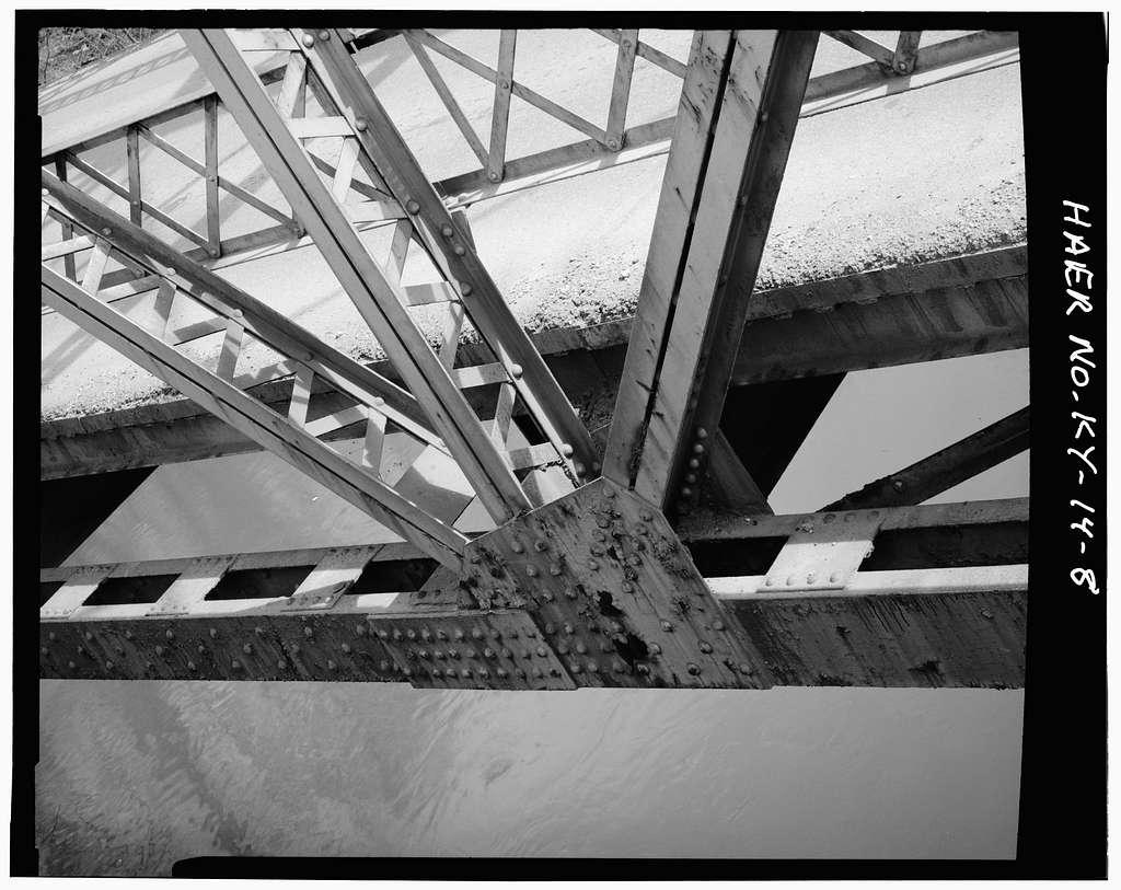Kentucky Route 840 Bridge, Spanning Cumberland River, Loyall, Harlan County, KY