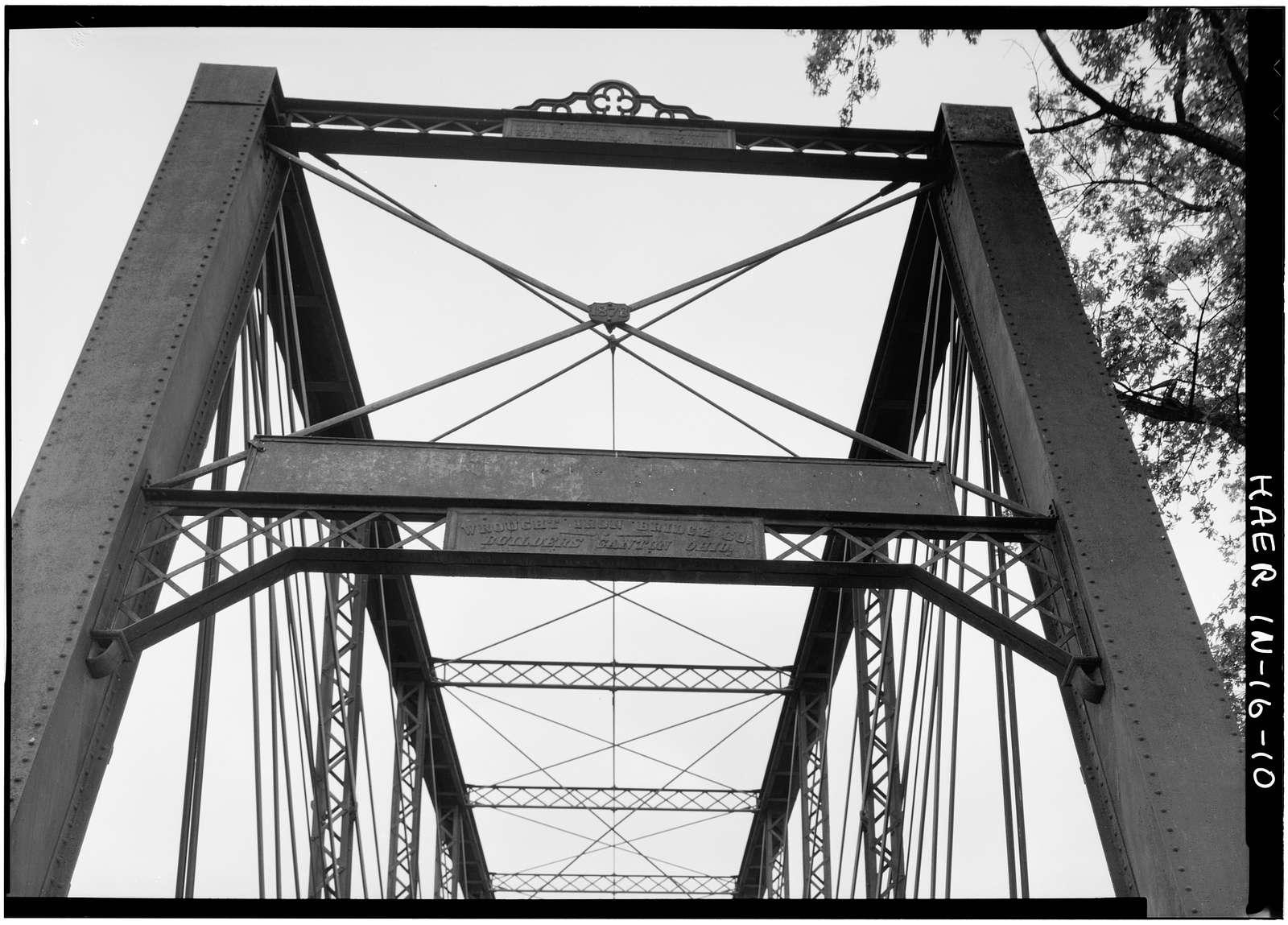 Laughery Creek Bridge, Spanning Laughery Creek, Aurora, Dearborn County, IN