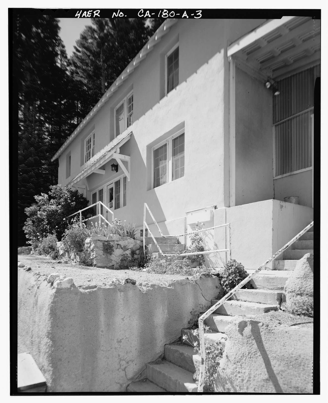 Lee Vining Creek Hydroelectric System, Triplex Cottage, Lee Vining Creek, Lee Vining, Mono County, CA