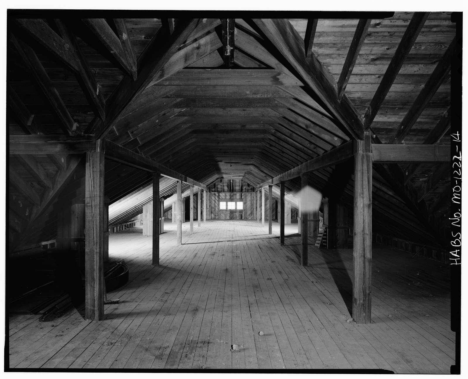 Longview Farm, Show Horse Barn, Longview Road, Lees Summit, Jackson County, MO