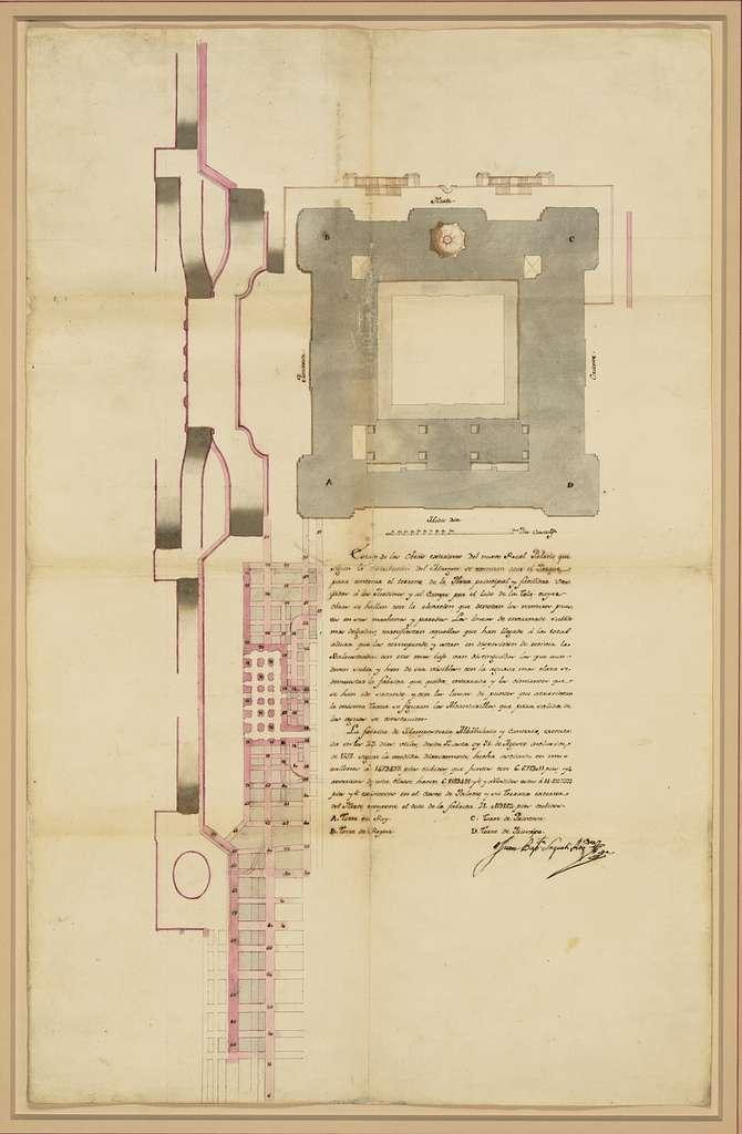 [Palacio real de Madrid. Plan]
