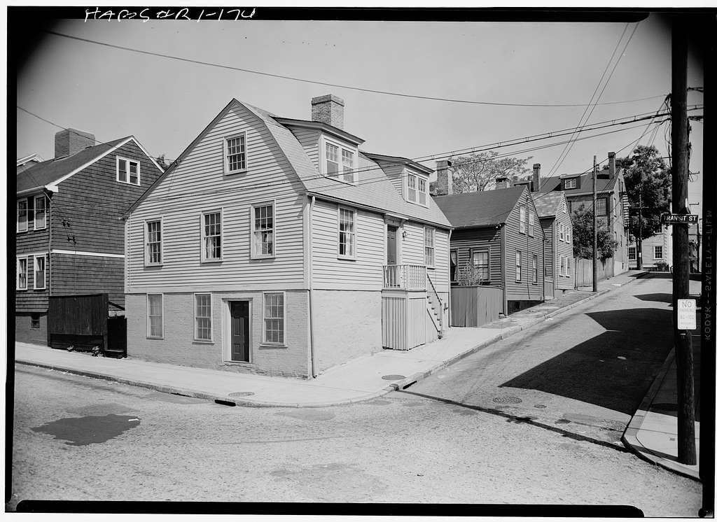 Riley Brown House, 2 Thayer Street, Providence, Providence County, RI