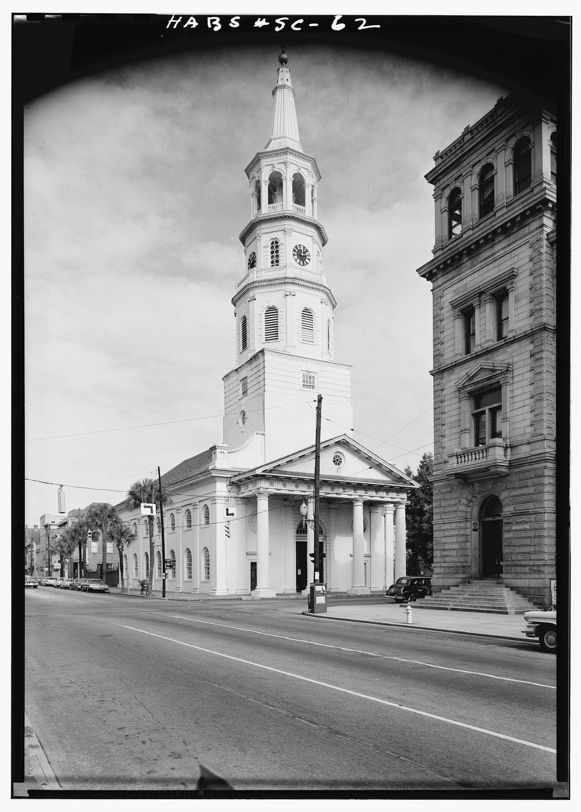 St. Michael's Episcopal Church, 80 Meeting Street, Charleston, Charleston County, SC