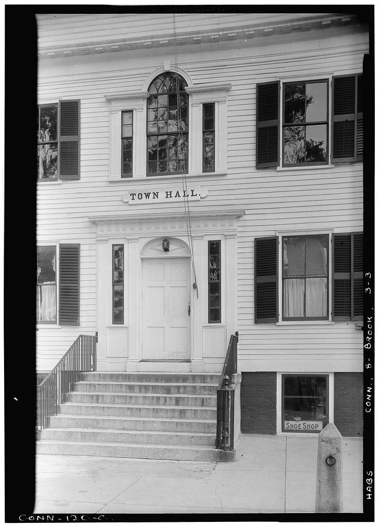 Town Hall, Brooklyn, Windham County, CT
