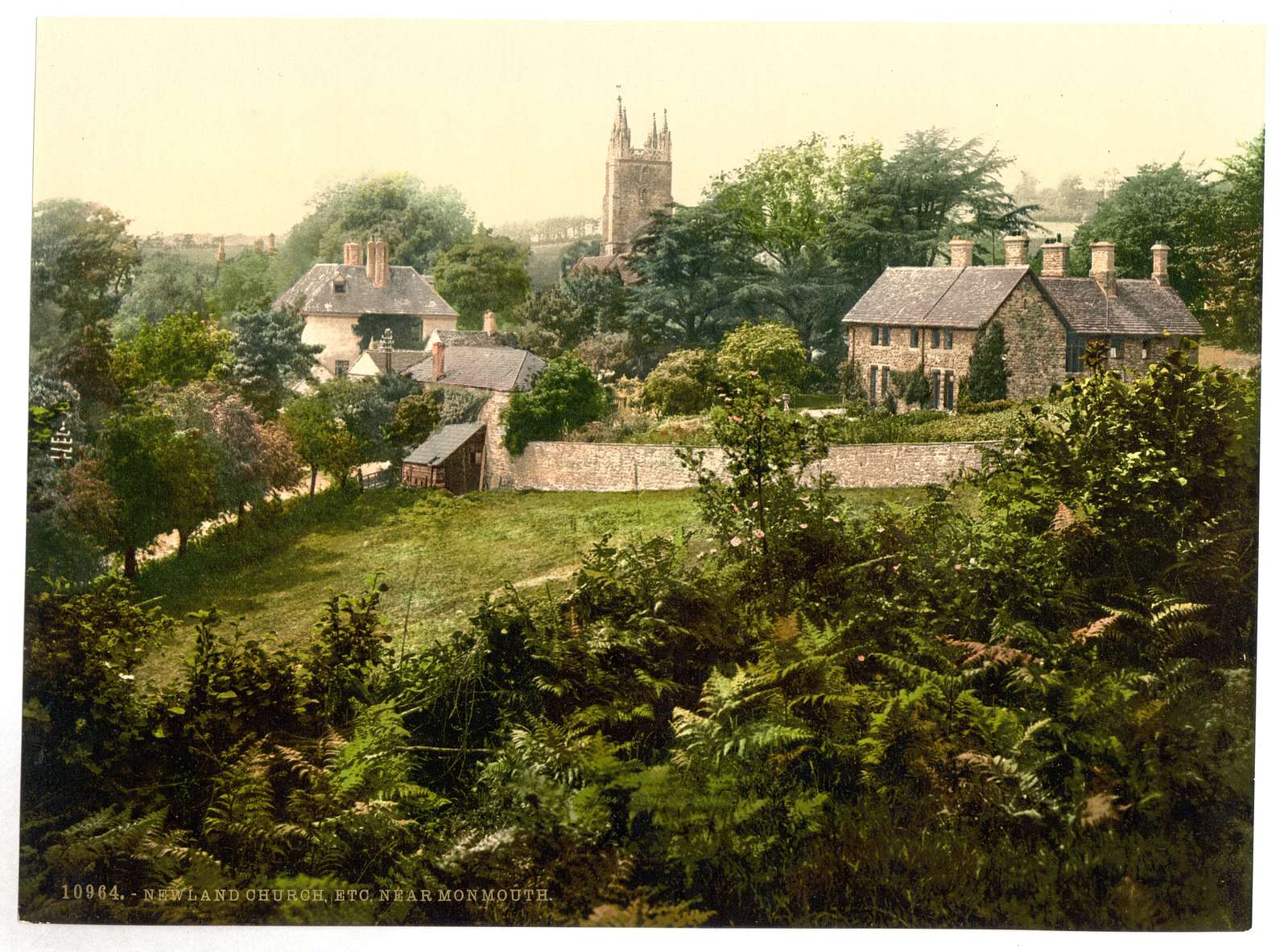[Vicinity of Newland Church, Monmouth, Wales]