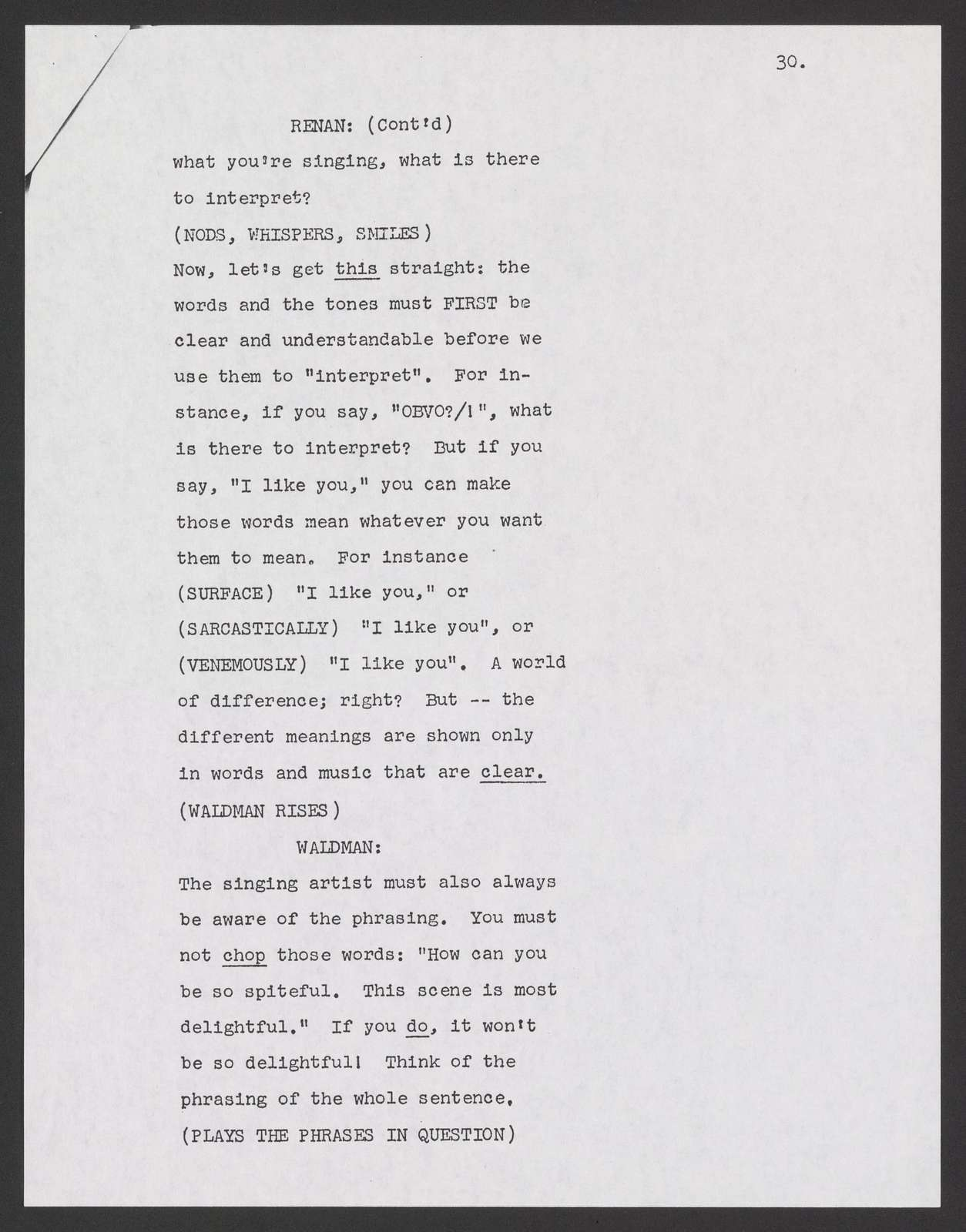 A midwinter's night dream TV commentary re Lincoln Center, Omnibus, 1961 Jan. 1