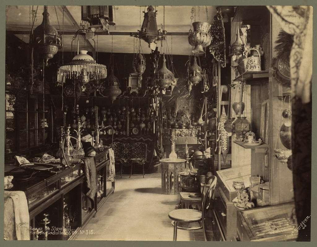Bazar de Stamboul. Maison Sadullah & Cie / G. Berggren.
