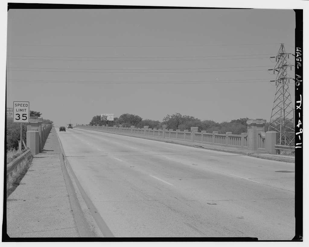 Belknap Street Viaduct, Spanning BNSF, SP & UP Railroads at Belknap Street (U.S. Route 377), Fort Worth, Tarrant County, TX